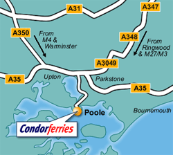Poole Ferry Port Map